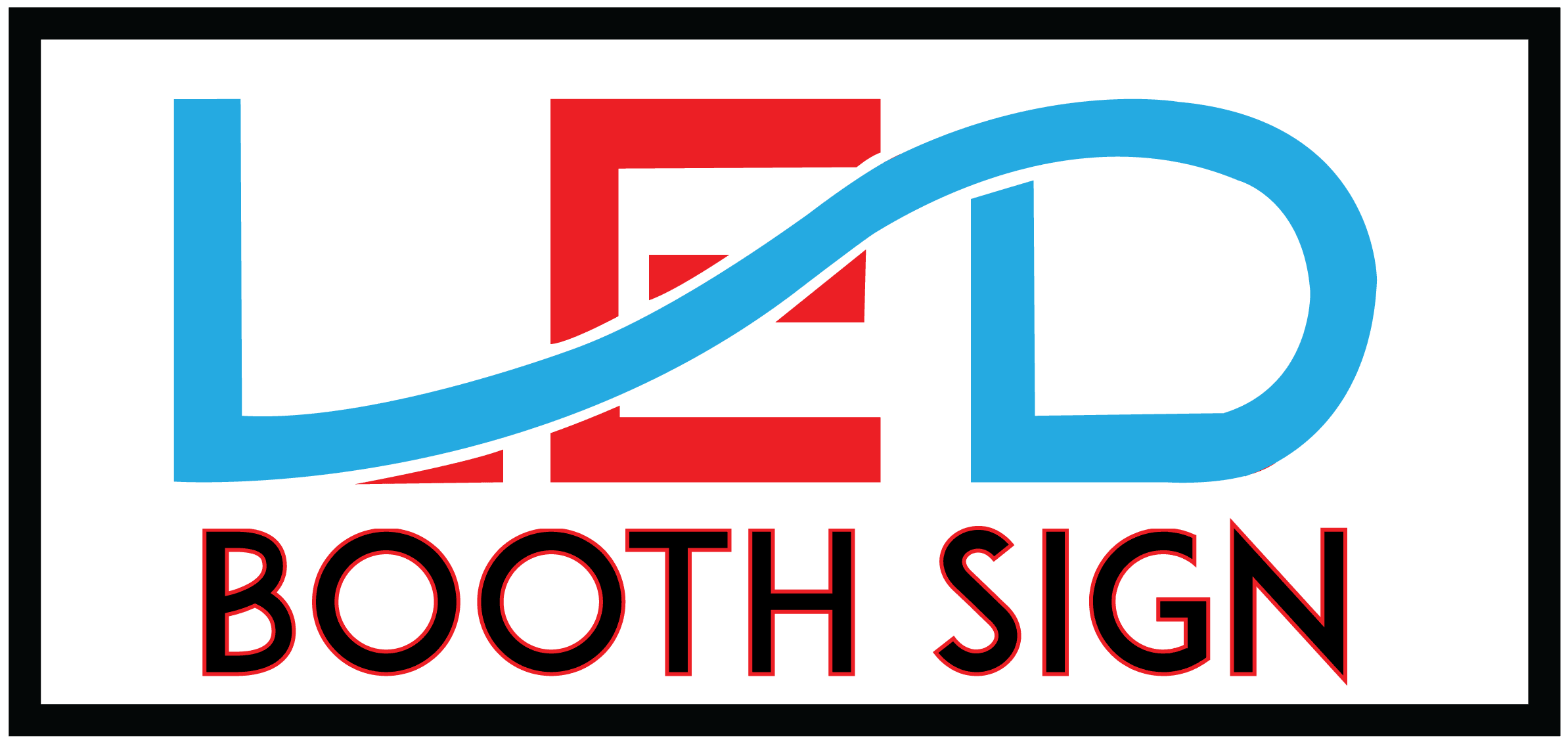 LED Booth Signs