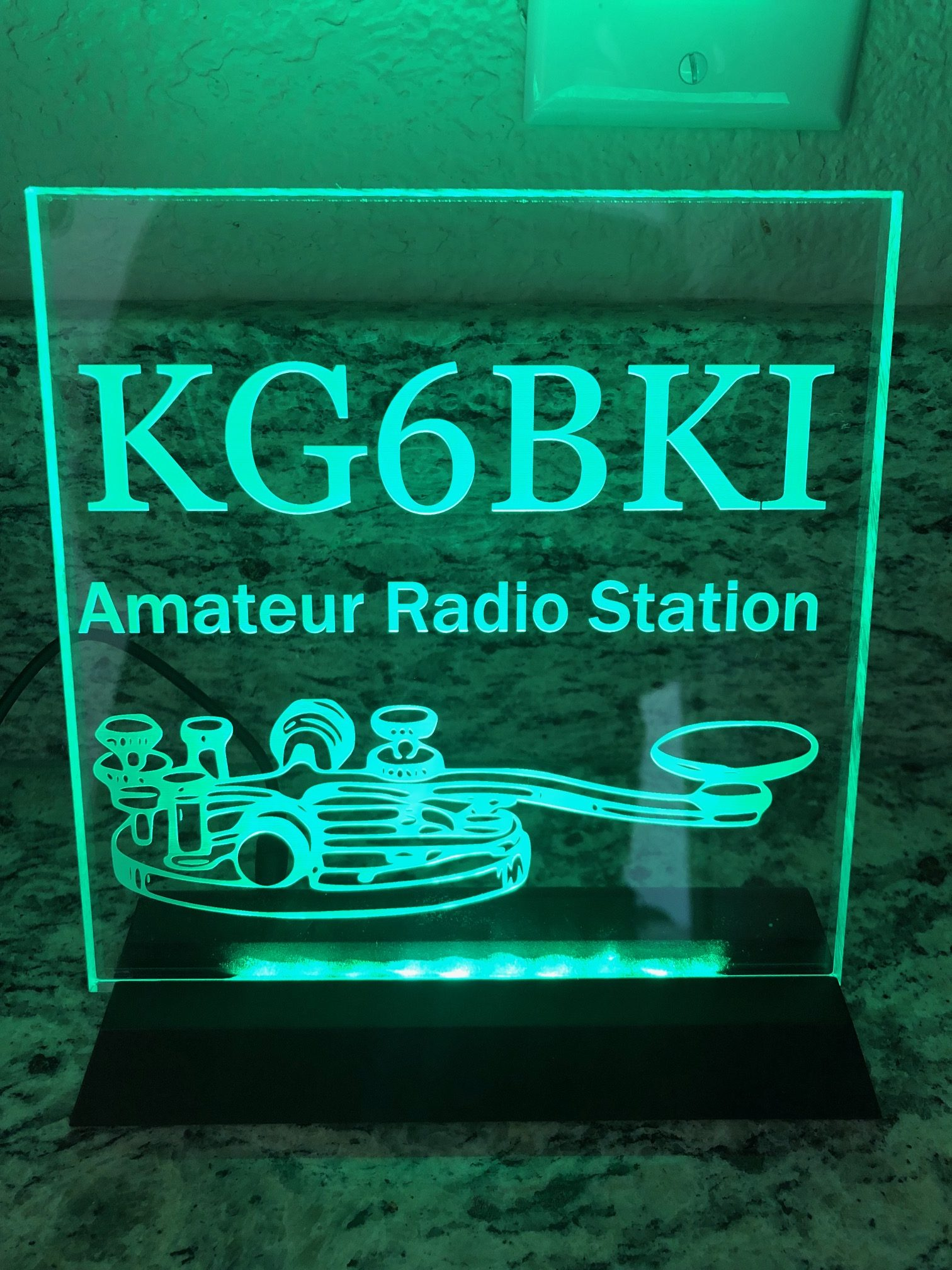 HAM Radio LED Signs